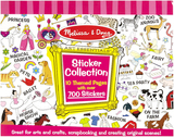 Melissa & Doug: Sticker Collection Pink 700+