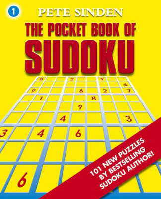 The Pocket Book of Sudoku by Pete Sinden image