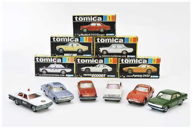 Let's start collecting Tomica Die-cast series image