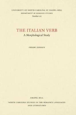 The Italian Verb by Frede Jensen image