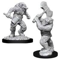 D&D Nolzur's Marvelous: Unpainted Miniatures - Wereboar & Werebear image