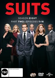 Suits - Season 8: Part 2 on DVD image