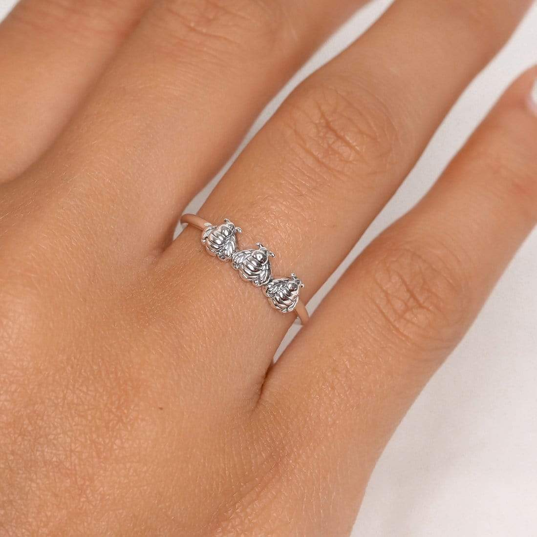 Midsummer Star: Bee Mine Ring (Size 6) image