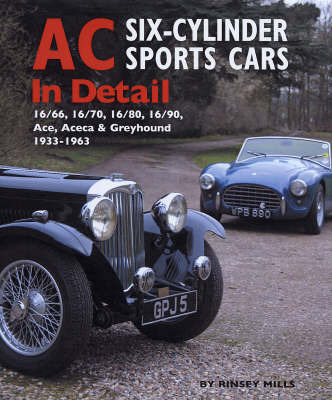 AC Sports Cars in Detail by Rinsey Mills image