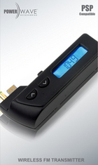 Powerwave PSP Wireless FM Transmitter for PSP