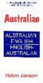 Australian Dictionary and Phrasebook by Helen Jonsen image
