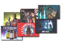 Doctor Who Postcards from Time and Space (100 Postcards, Boxed) image