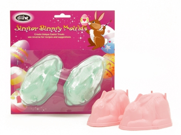 Junior Bunny Mould - Set of 2 image