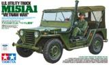 Tamiya: 1/35 M151a1 Vietnam Utility Truck - Model Kit