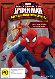 Ultimate Spider-Man: The Avenging Spider-Man on DVD