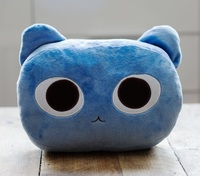 Cat Nap Cushion - Blue