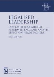 Legalised Leadership by Dan Gibton image