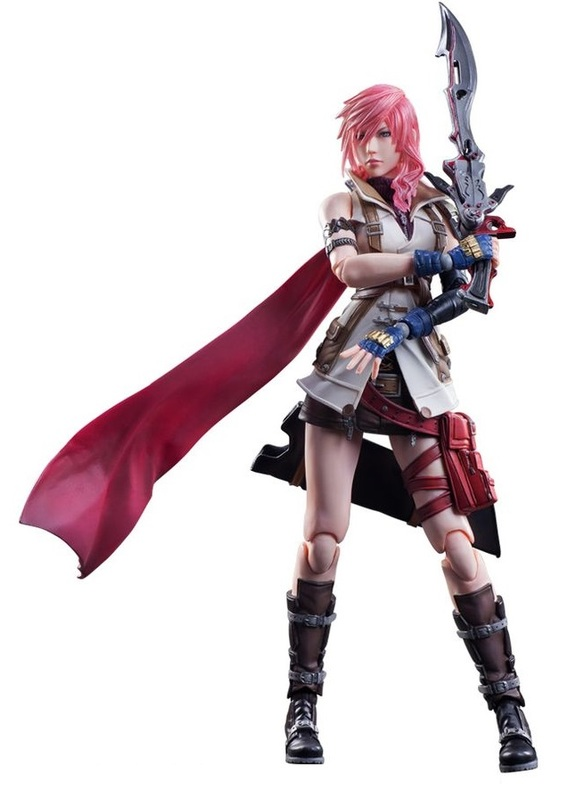 Final Fantasy: Lightning (Dissidia Ver.) - Play Arts Kai Figure