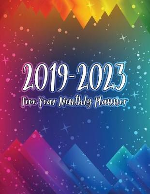 2019-2023 Five Year Monthly Planner by Magicarts Planners