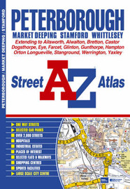 Peterborough Street Atlas by Great Britain image