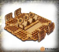 TTCombat: Tabletop Scenics - Storage Platform Fans (Sector 2)
