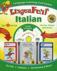 """Linguafun!"" Italian: Language Learning Card Games and CD image"