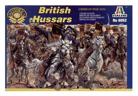 Italeri British Hussars (Crimean War) 1:72 Model Kit