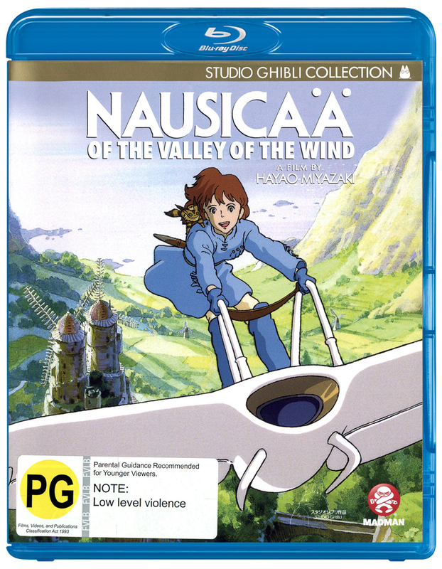 Nausicaa of the Valley of the Wind on Blu-ray