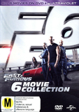 Fast & Furious - 6 Movie Collection DVD