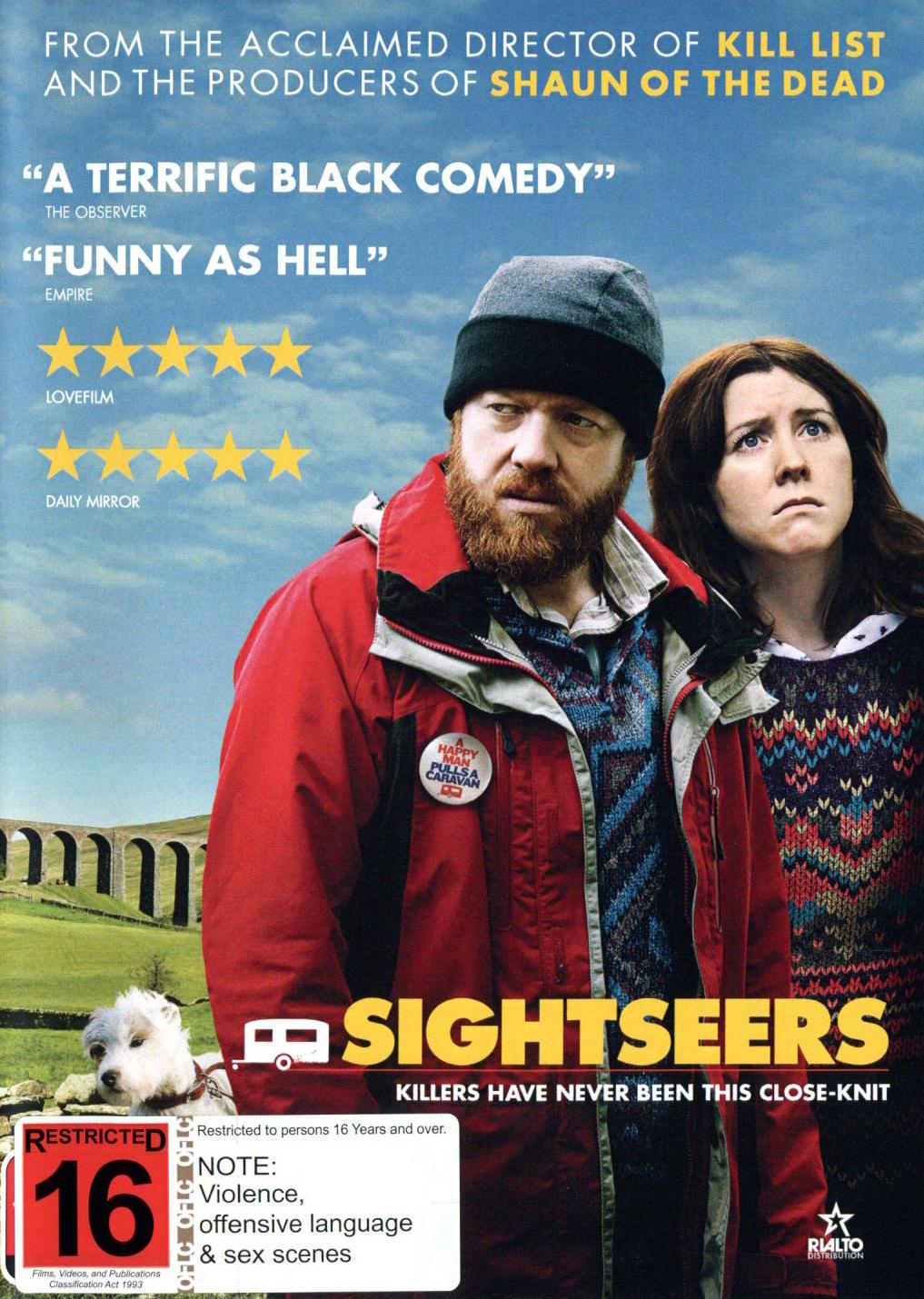 Sightseers on DVD image