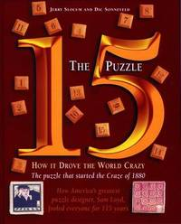 The 15 Puzzle Book by Jerry Slocum