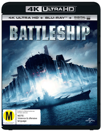 Battleship on Blu-ray, UHD Blu-ray