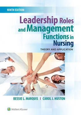 Leadership Roles and Management Functions in Nursing by Bessie L. Marquis image