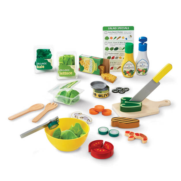 Melissa & Doug - Slice and Toss Salad Set