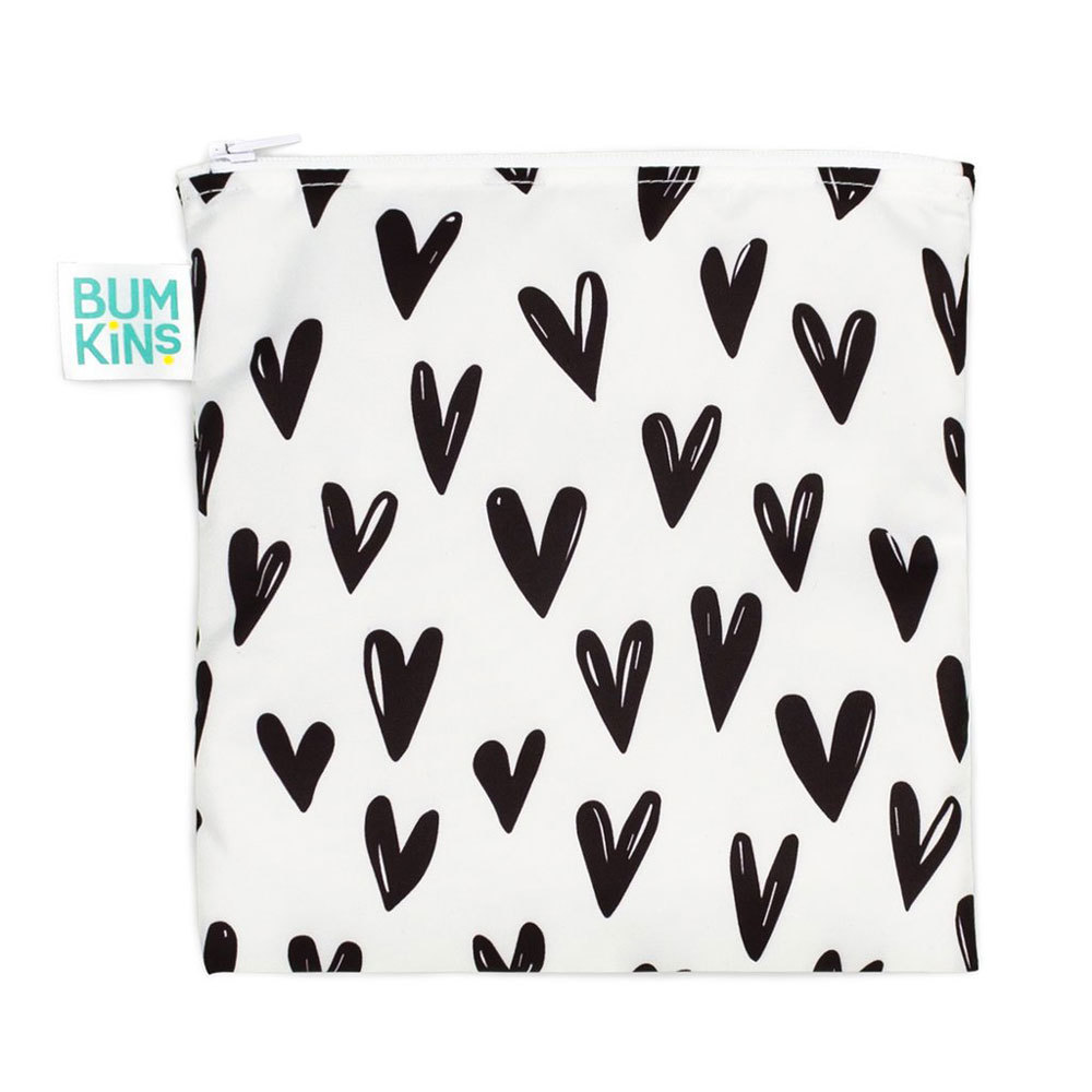 Bumkins: Large Snack Bag - Hearts image