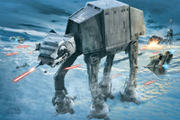 Star Wars Maxi Poster - AT-AT Attack (941)