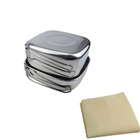 Outdoor Camping Stainless Steel Cook Set - 6 Piece image
