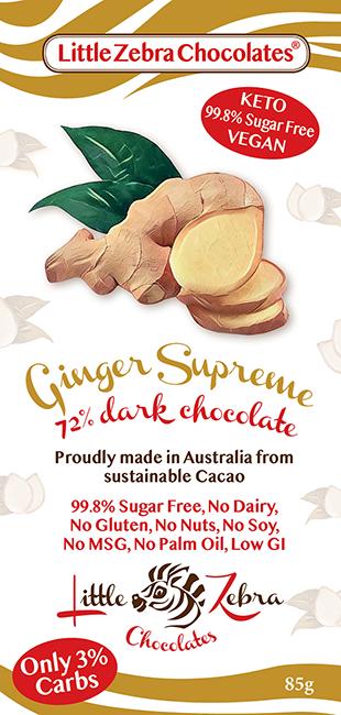 Little Zebra Chocolates: Ginger Supreme