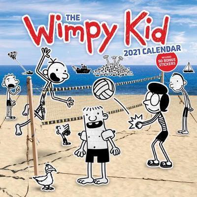 Wimpy Kid 2021 Calendar by Jeff Kinney