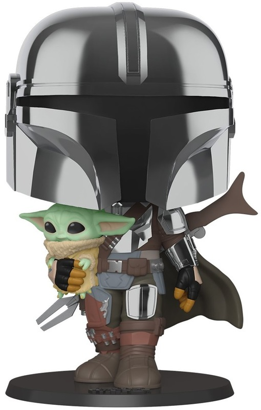 "Star Wars: The Mandalorian - 10"" Super Sized Pop! Vinyl Figure"
