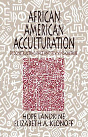 African American Acculturation by Hope Landrine image