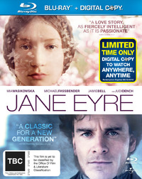 Jane Eyre - Double Play (Blu-ray / Digital Copy) on Blu-ray