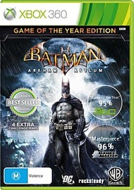 Batman: Arkham Asylum Game of the Year Edition (Classics) for Xbox 360