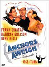 Anchors Aweigh on DVD