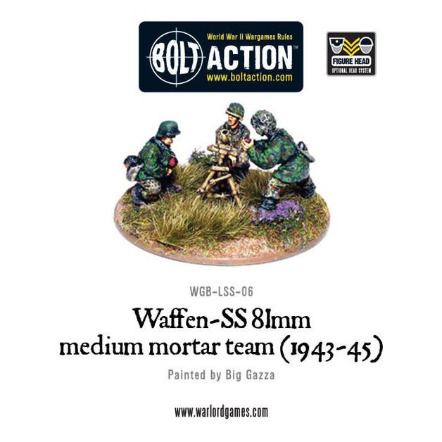 German Army - Waffen-SS 81mm Medium Mortar Team
