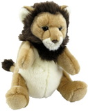 Antics: Plush Lion Puppet
