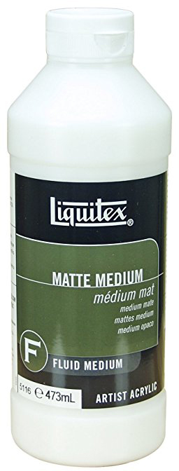 Liquitex: Matte Fluid Medium (473ml)