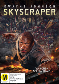 Skyscraper on DVD