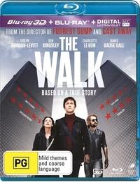 The Walk on Blu-ray, 3D Blu-ray, UV