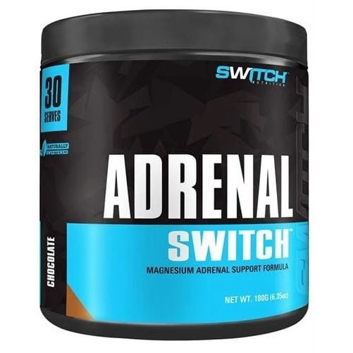 Adrenal Switch - Magnesium Adrenal Support Formula - Chocolate (30 Serves)