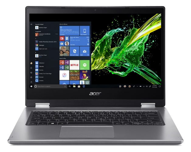 "14"" Acer Spin 3 i5 4GB 1TB Laptop"
