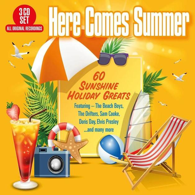 Here Comes Summer - 60 Sunshine Holiday Greats by Various Artists