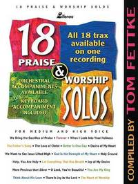 18 Praise & Worship Solos : For Medium and High Voice image