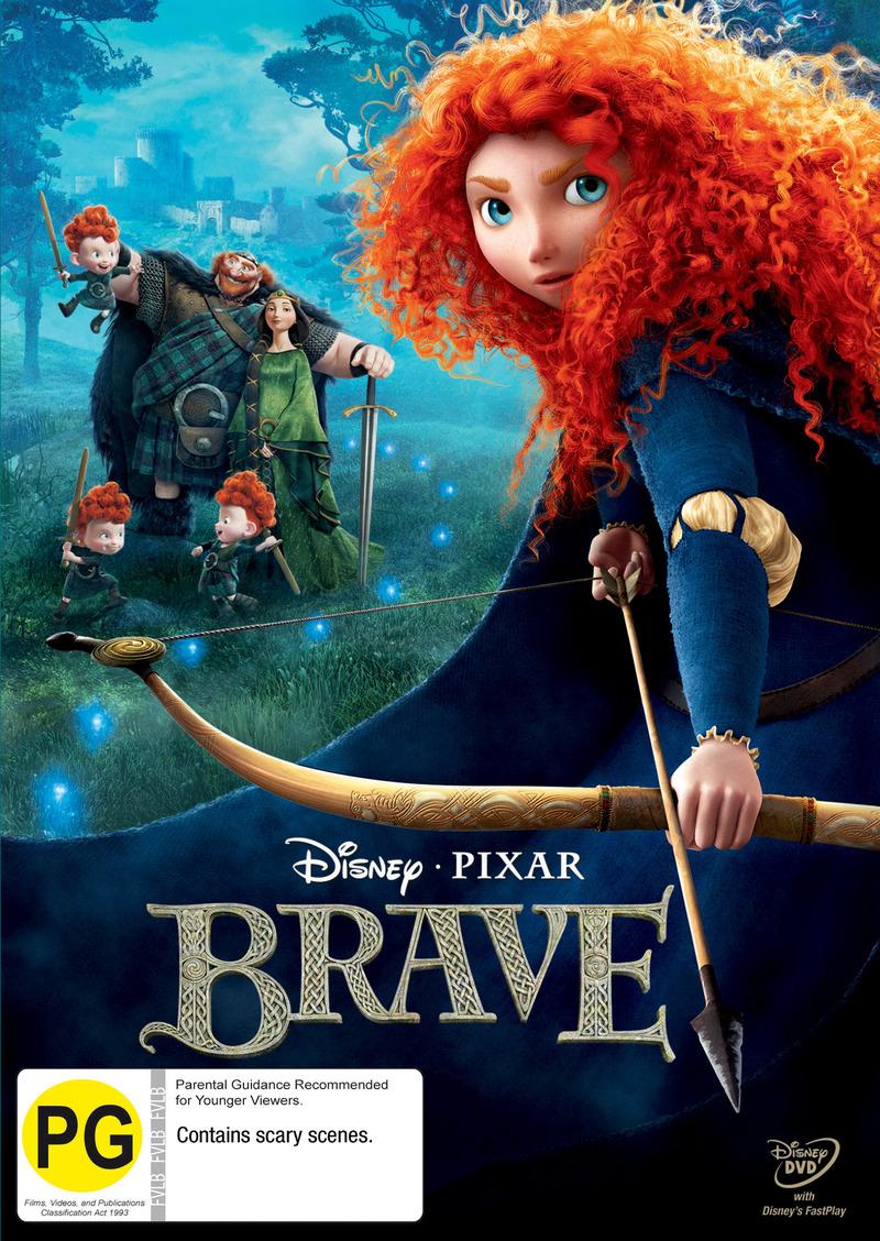 Brave on DVD image