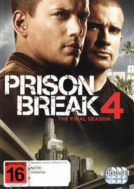 Prison Break 4 - The Final Season on DVD